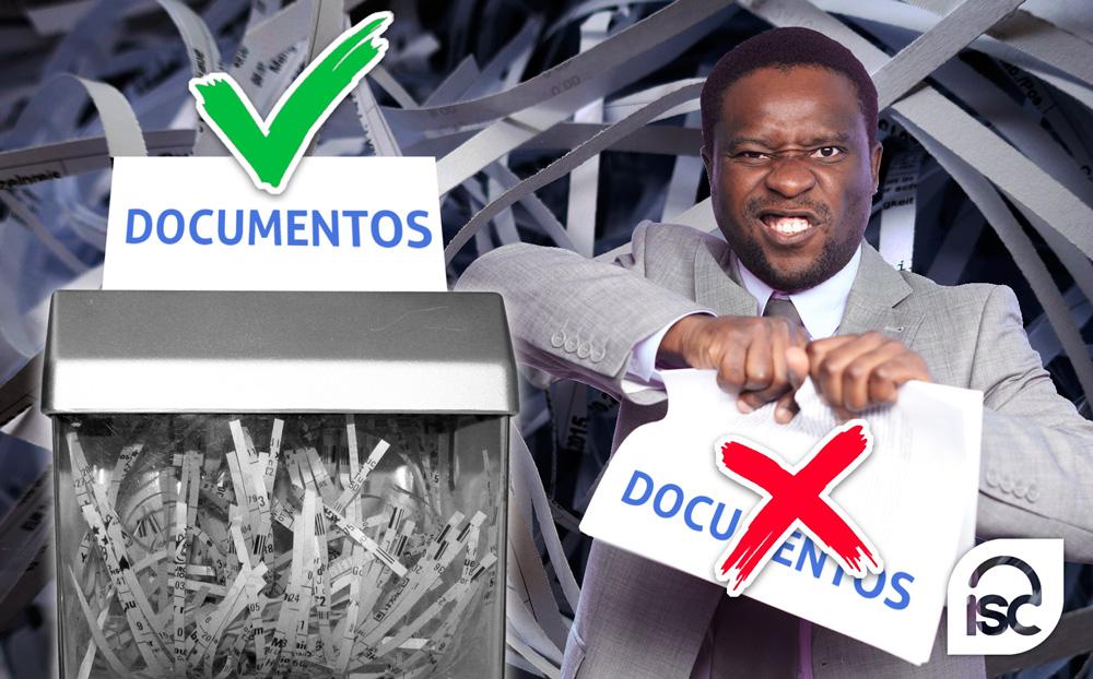 Cómo destruir correctamente documentación en papel