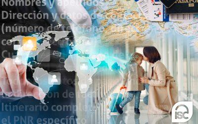 Registro de datos personales de los viajeros en vuelos internacionales