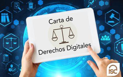 Carta de Derechos Digitales publicada por la AEPD